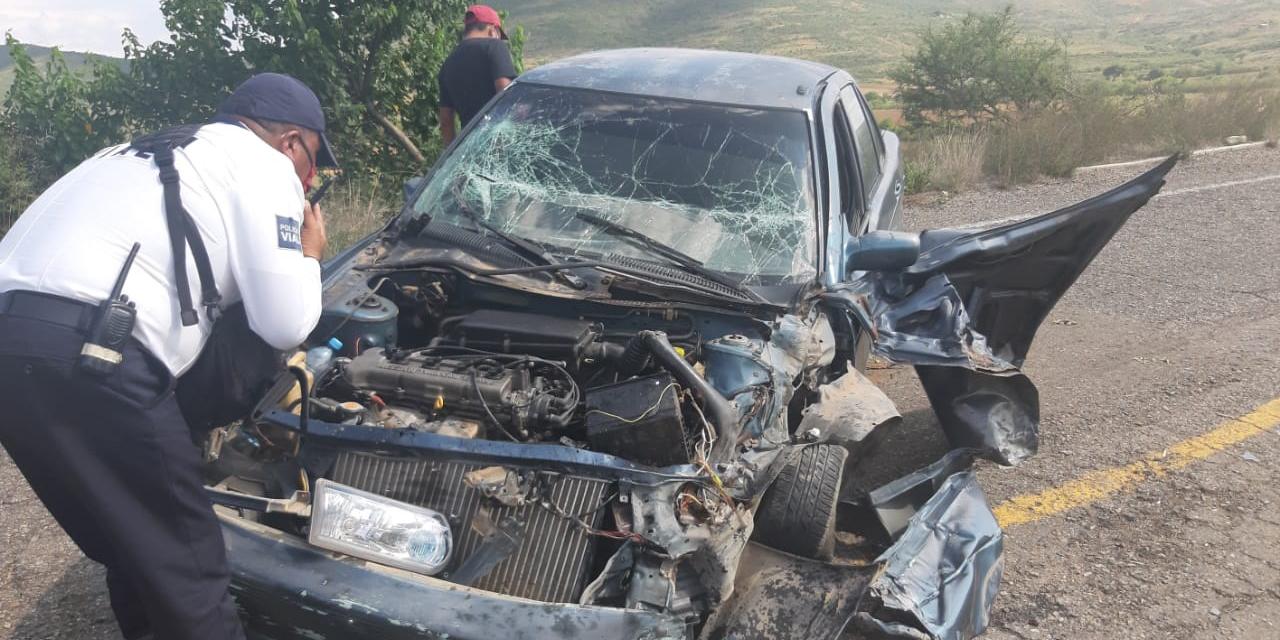 Accidente e intento de fuga en carretera a San Dionisio Ocotepec   El Imparcial de Oaxaca