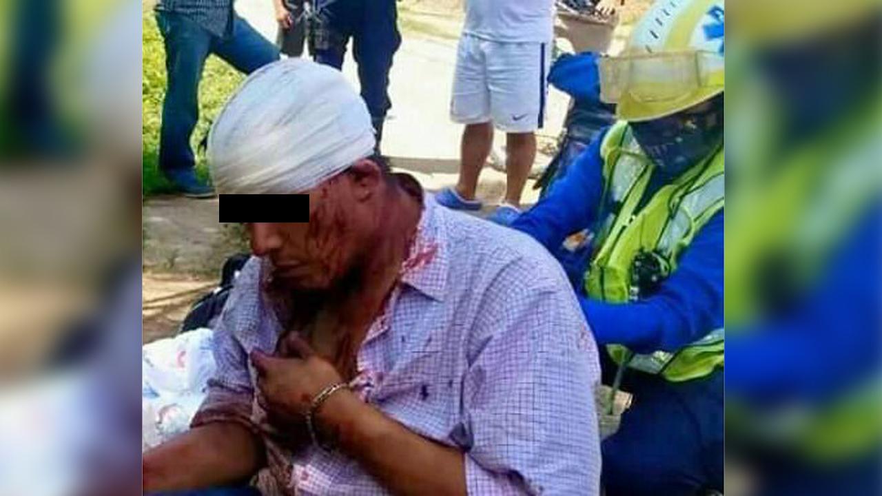 Le dan golpiza a presunto ladrón en calzada Madero   El Imparcial de Oaxaca