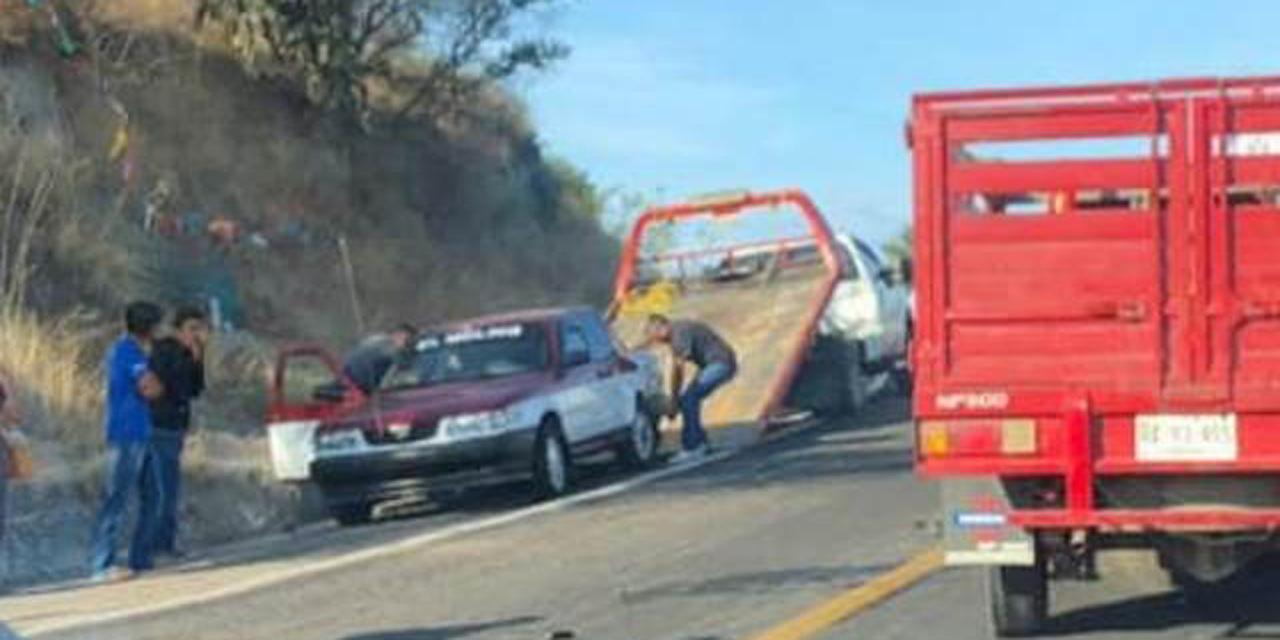Accidente carretero deja cuatro lesionados en tramo Huajuapan-Oaxaca | El Imparcial de Oaxaca