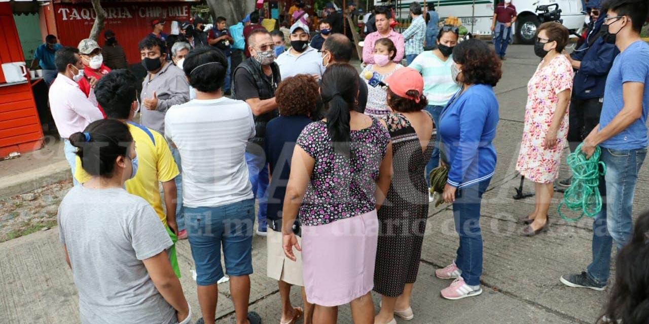 Vecinos del Infonavit 1º de Mayo aceptan instalación del tianguis | El Imparcial de Oaxaca