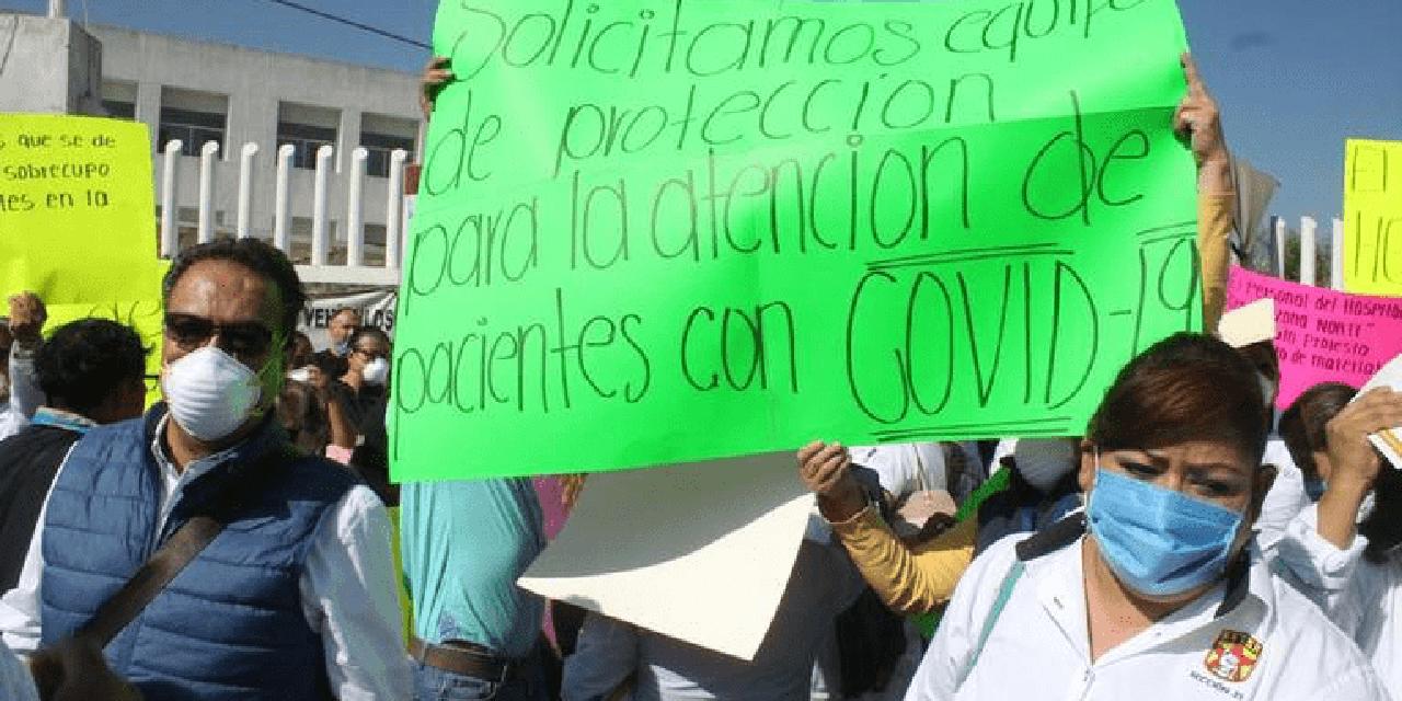 No funcionan protocolos de dotación de insumos: SNTSA | El Imparcial de Oaxaca