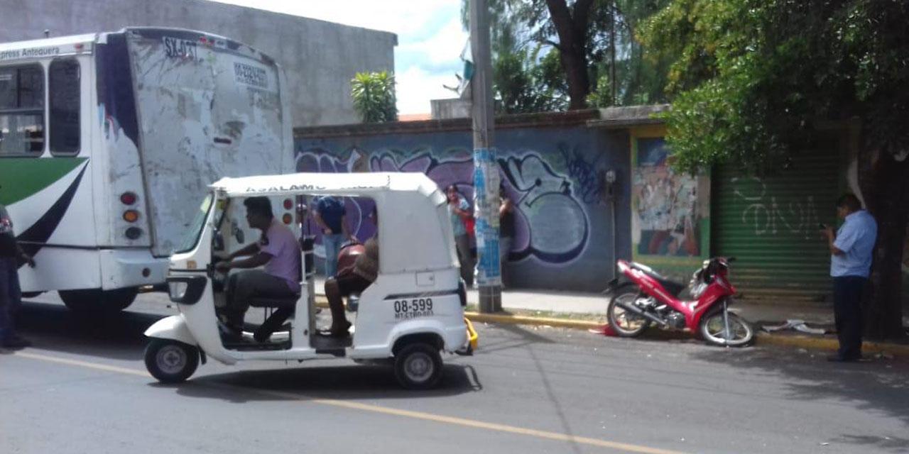 Accidente en Volcanes casi acaba en tragedia | El Imparcial de Oaxaca