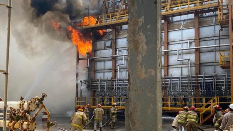 Reportan conato de incendio en refinería de Salina Cruz luego de sismo de magnitud 7.5 | El Imparcial de Oaxaca
