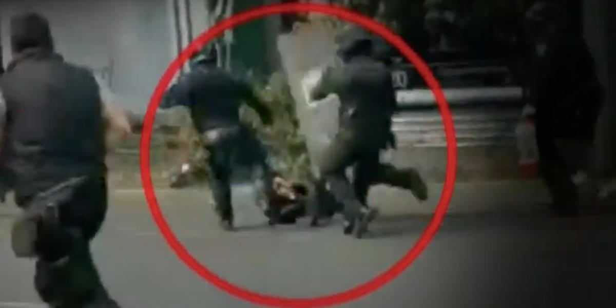 Policías patean a adolescente de 15 años en CdMx   El Imparcial de Oaxaca