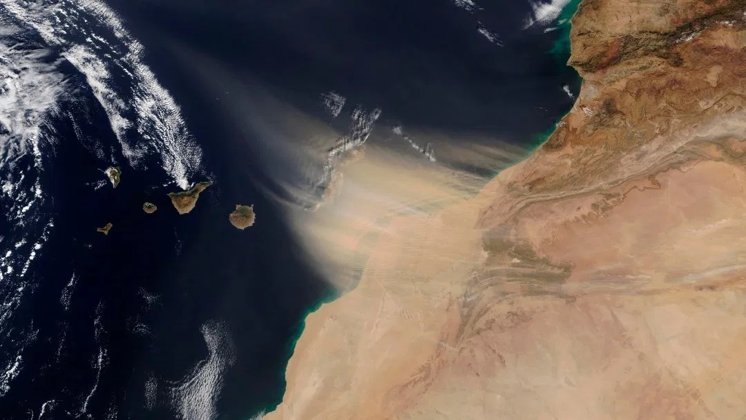 Video: Polvo del Sahara llegará a México la próxima semana | El Imparcial de Oaxaca
