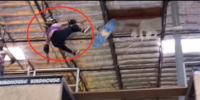 Video: Skater olímpica de 11 años sufre terrible caída | El Imparcial de Oaxaca