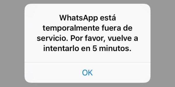 WhatsApp presenta problemas de conexión | El Imparcial de Oaxaca