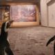 Video: Pingüinos visitan museo cerrado por pandemia