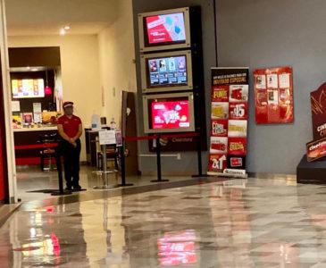 Reapertura de cines de Oaxaca con escasa afluencia