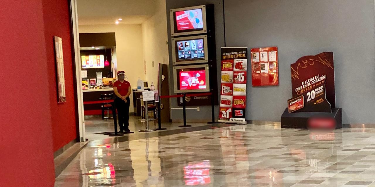Reapertura de cines de Oaxaca con escasa afluencia   El Imparcial de Oaxaca