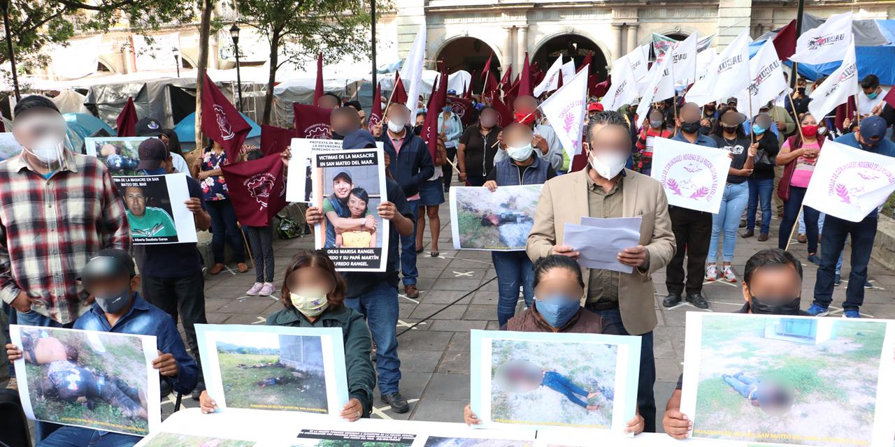 Familiares de víctimas claman justicia por masacre en San Mateo del Mar | El Imparcial de Oaxaca