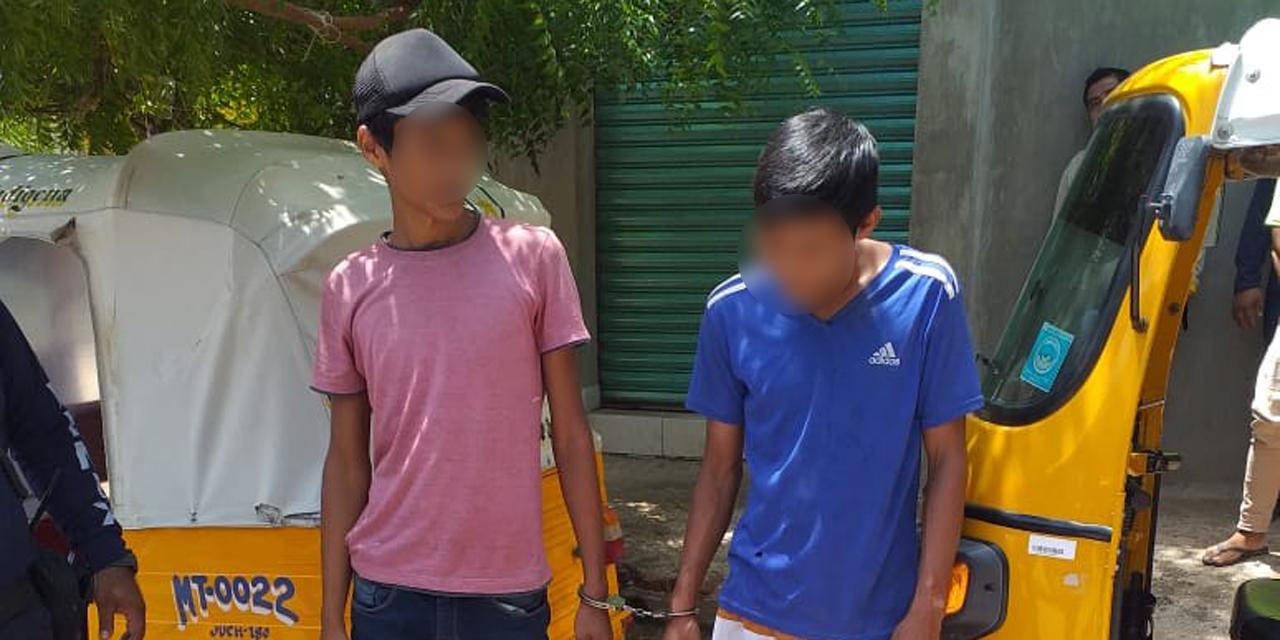 Detienen a dos presuntos ladrones en Juchitán   El Imparcial de Oaxaca