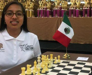 Ajedrecista oaxaqueña representará a México en el FIDE