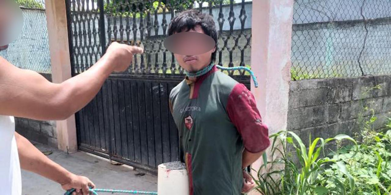 Detienen a presunto ladrón en Juchitán; vecinos querían quemarlo | El Imparcial de Oaxaca