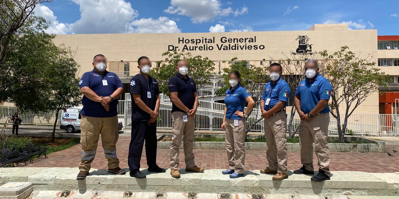Hospital Civil cuenta con equipo de traslado de pacientes Covid | El Imparcial de Oaxaca
