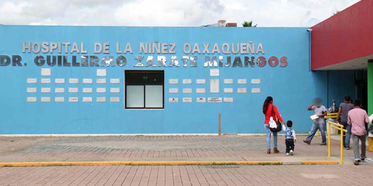 Hospital de la Niñez enfrenta desabasto del 60% | El Imparcial de Oaxaca