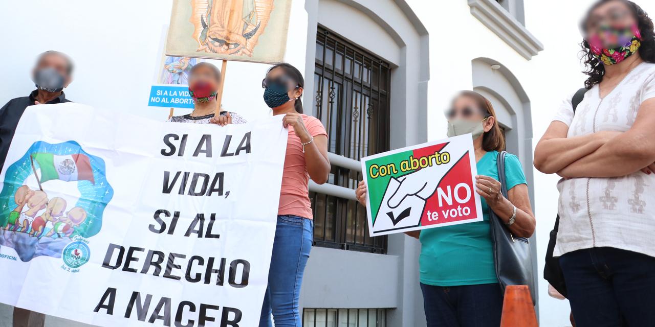 Fallo en despenalización del aborto en Veracruz encuentra eco en Oaxaca | El Imparcial de Oaxaca