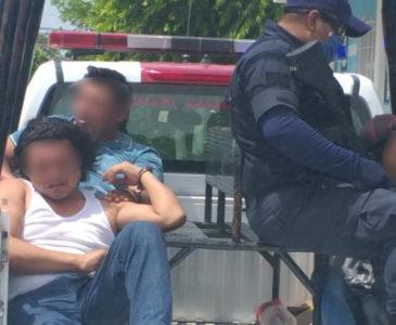 Asalto y persecución en Juchitán deja tres detenidos