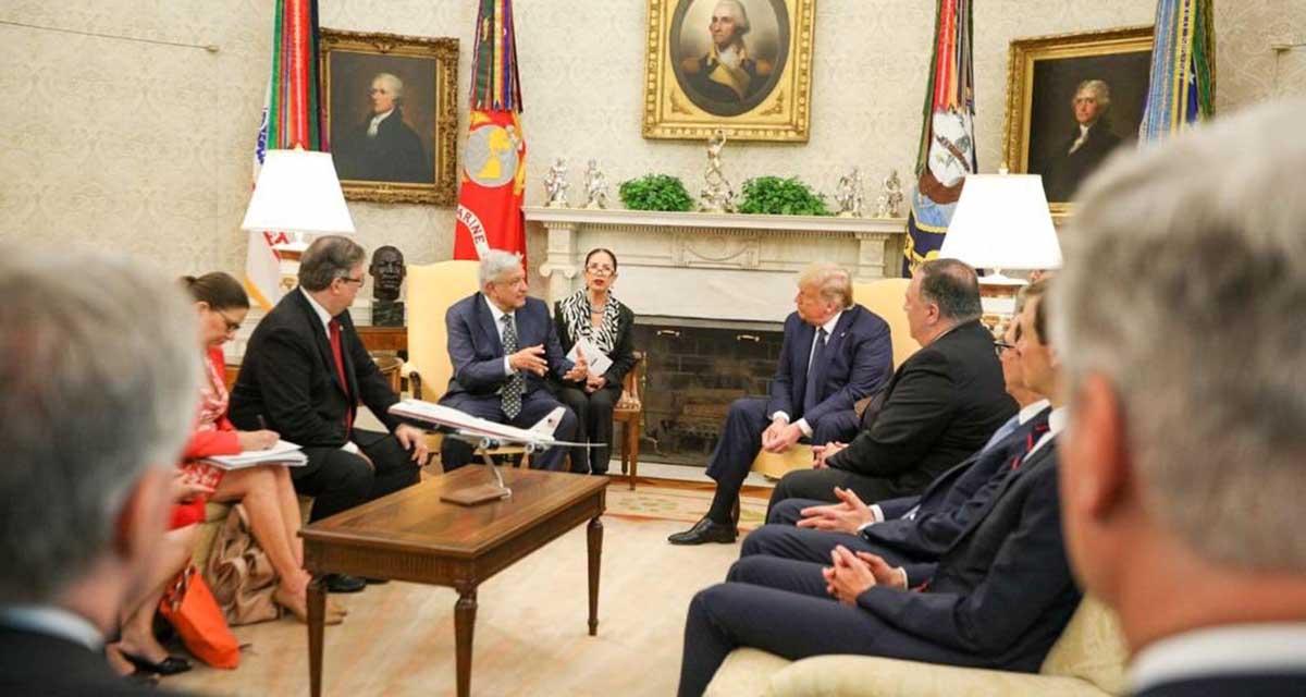 Se reúne AMLO con Donald Trump en la Casa Blanca | El Imparcial de Oaxaca