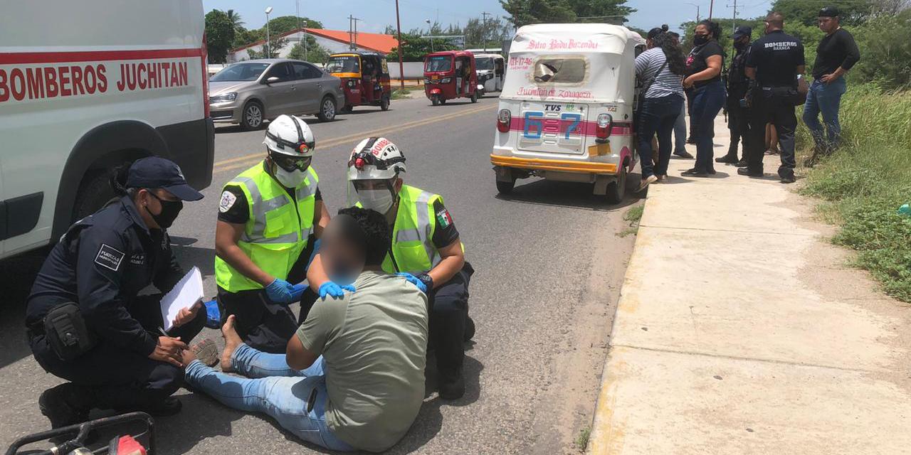 Fuerte accidente en carretera de Juchitán | El Imparcial de Oaxaca
