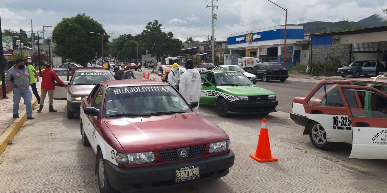 Sancionan a conductores por incumplir medidas en Huajuapan   El Imparcial de Oaxaca