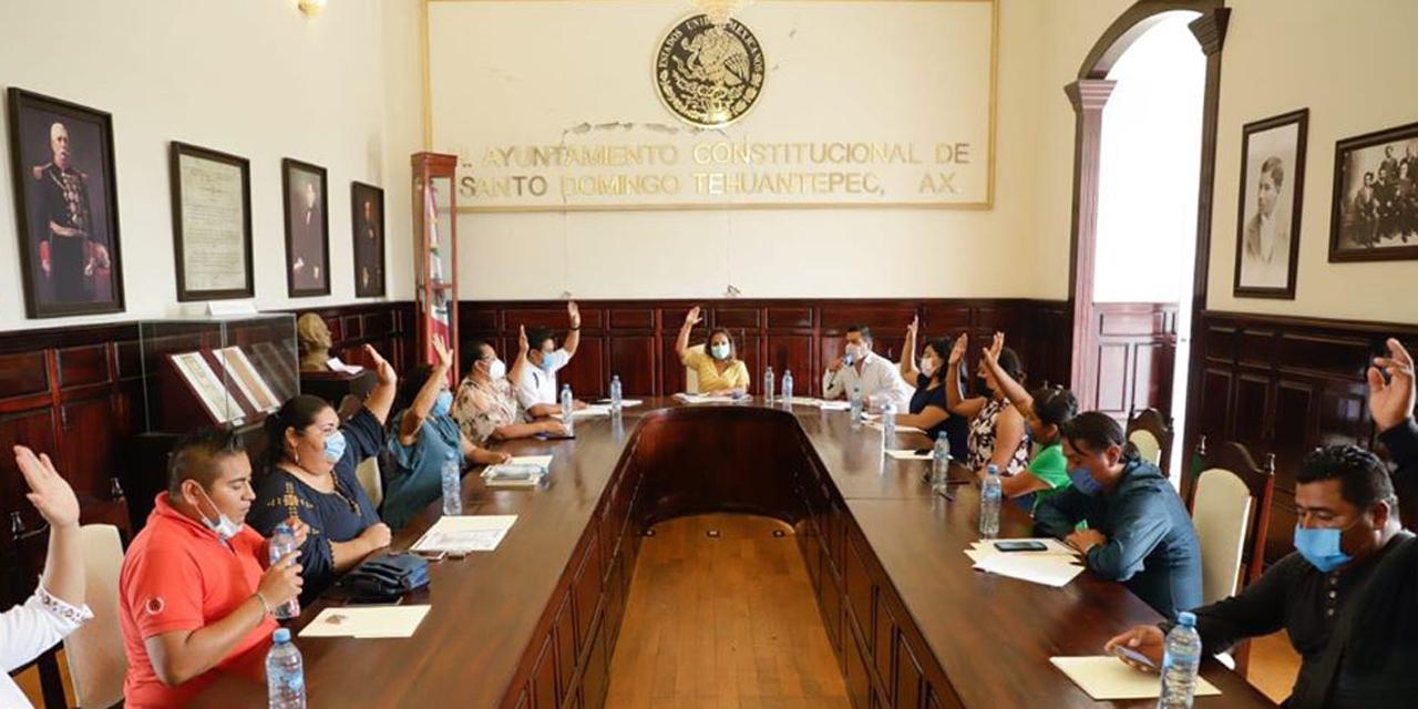 Cabildo de Tehuantepec acuerda suspender actividades municipales por Covid-19   El Imparcial de Oaxaca