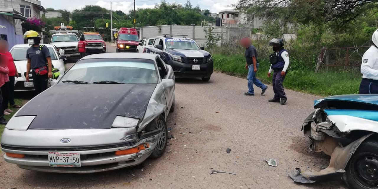 Accidente en Huajuapan deja sólo daños materiales | El Imparcial de Oaxaca