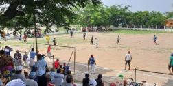 Realizan partido de Talaxi en Juchitán pese a pandemia