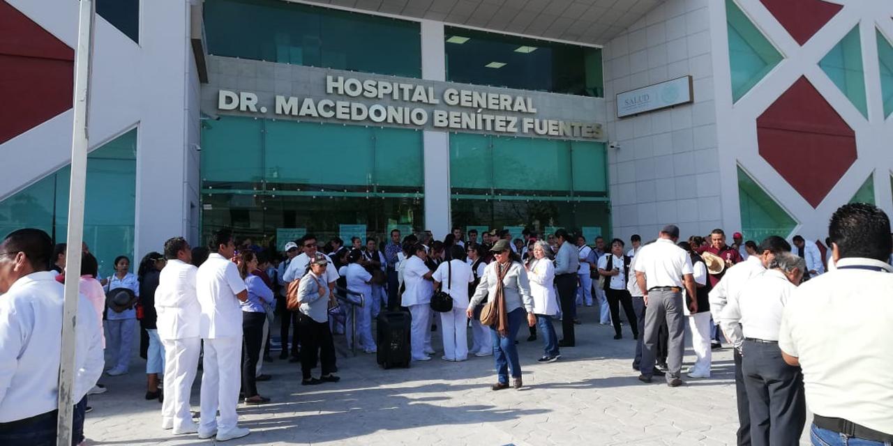 Horpital General de Juchitán reanuda servicios bajo protesta   El Imparcial de Oaxaca