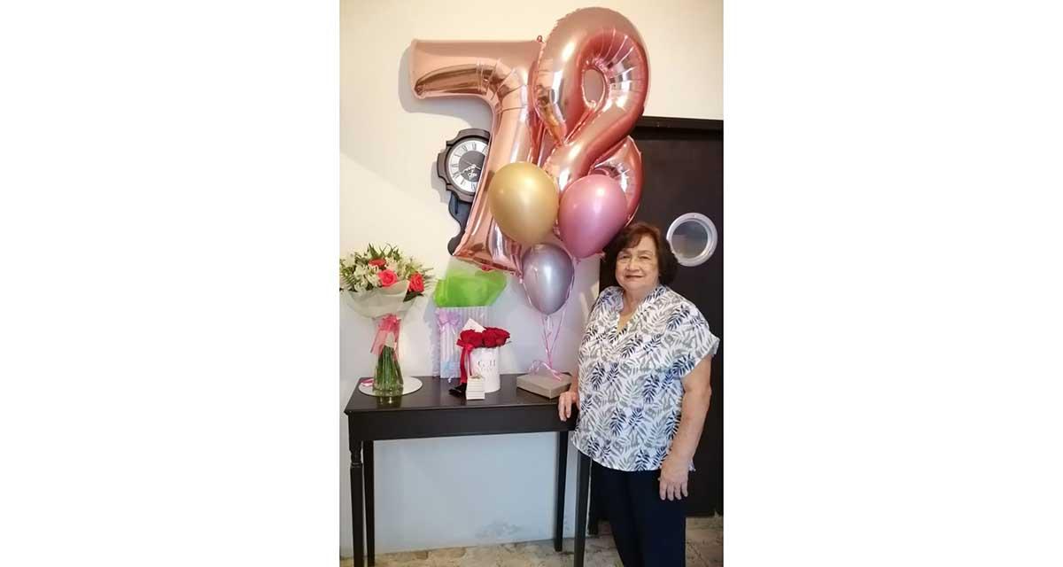 Cumpleaños sorpresa para Nancy