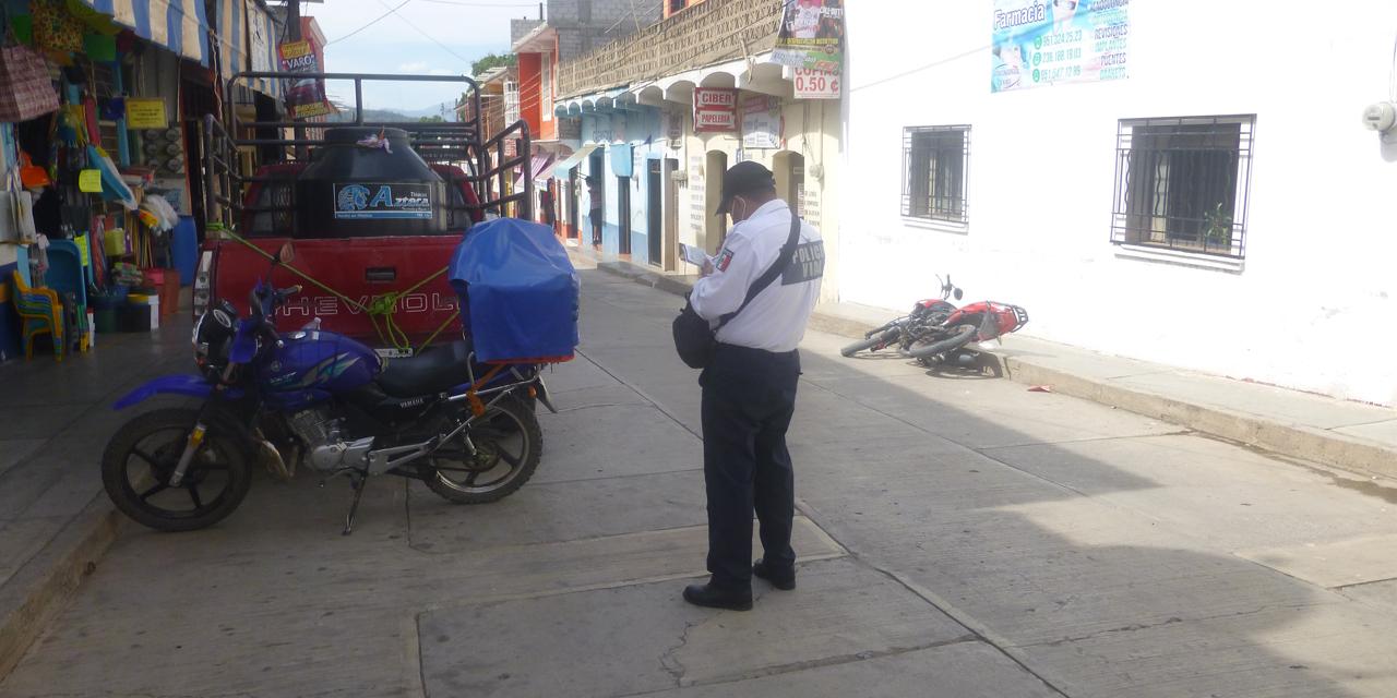 Policía Vial de Cuicatlán pide a repartidores respetar el reglamento | El Imparcial de Oaxaca