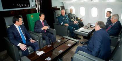 Gasto millonario en giras del avión presidencial | El Imparcial de Oaxaca