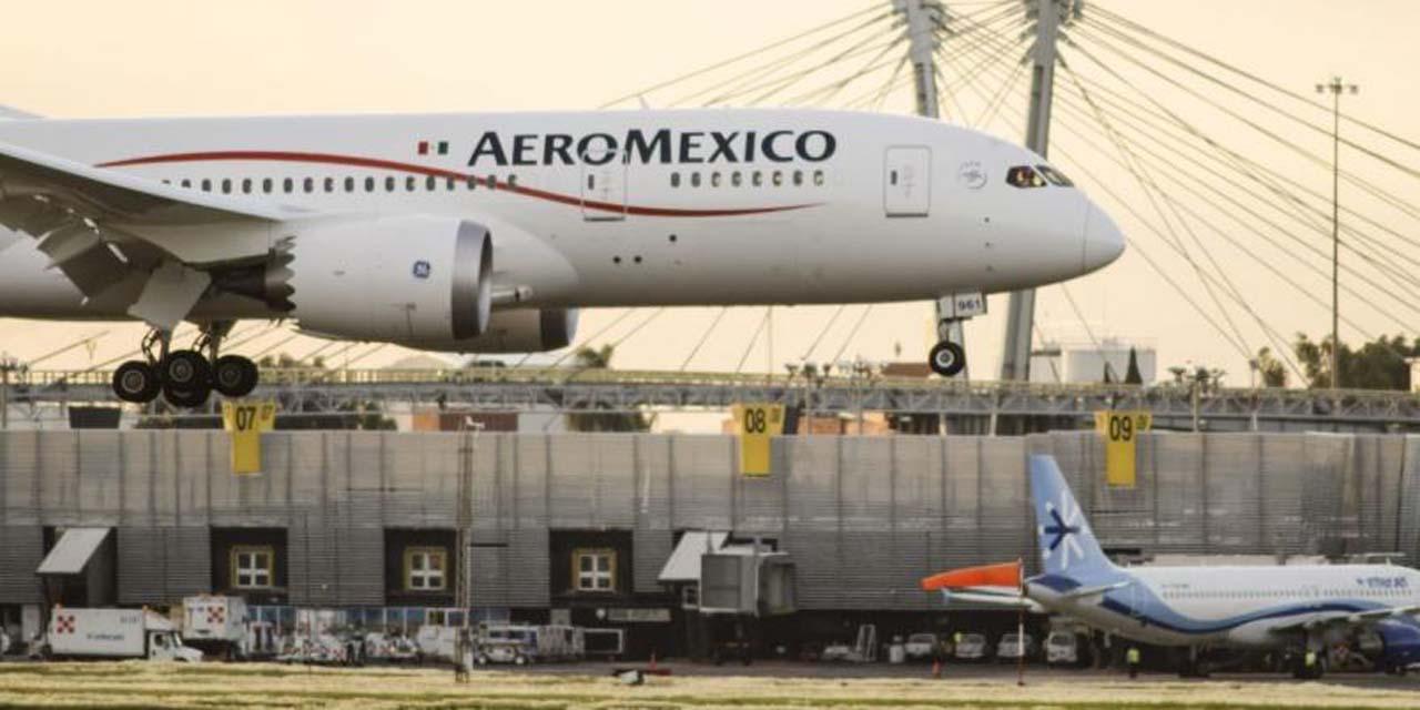 Aeroméxico mantendrá operaciones durante su reestructuración | El Imparcial de Oaxaca