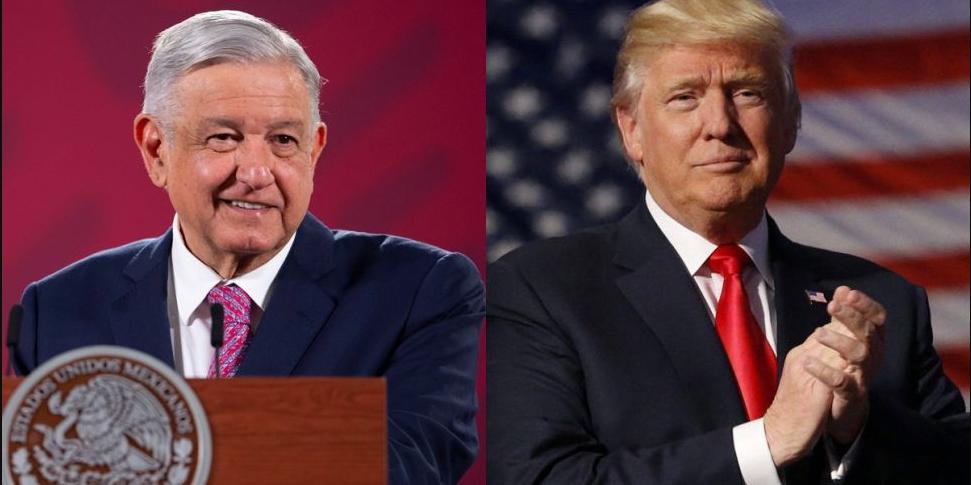 Trump reconoce a AMLO como 'el mejor presidente que México ha tenido' | El Imparcial de Oaxaca