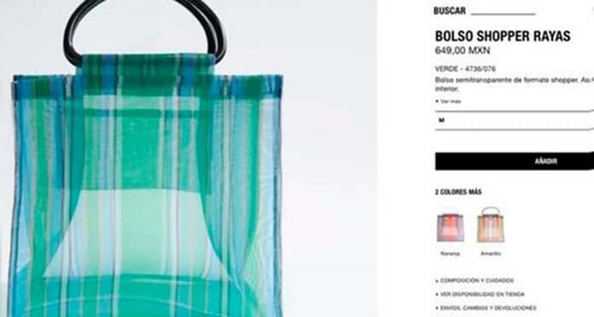 Tras críticas, Zara retira bolsas de mandado que vendía en 659 pesos | El Imparcial de Oaxaca