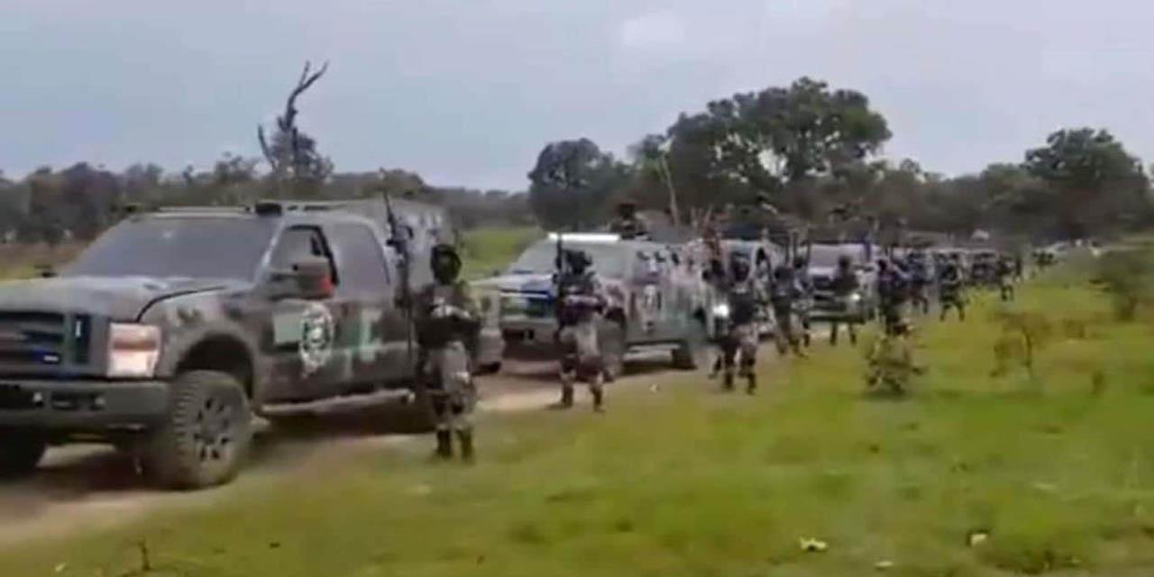 Video: CJNG muestran armamento y vehículos blindados; AMLO busca la paz | El Imparcial de Oaxaca