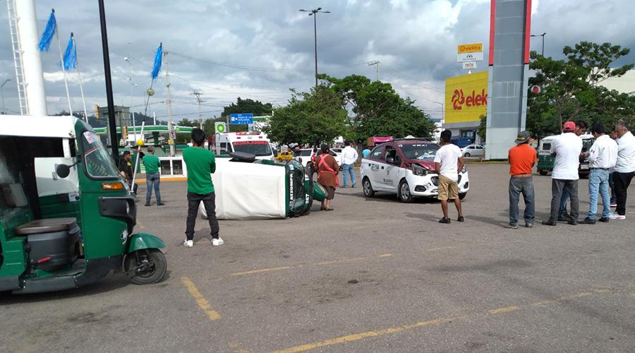 Encontronazo entre mototaxis de Atzompa | El Imparcial de Oaxaca