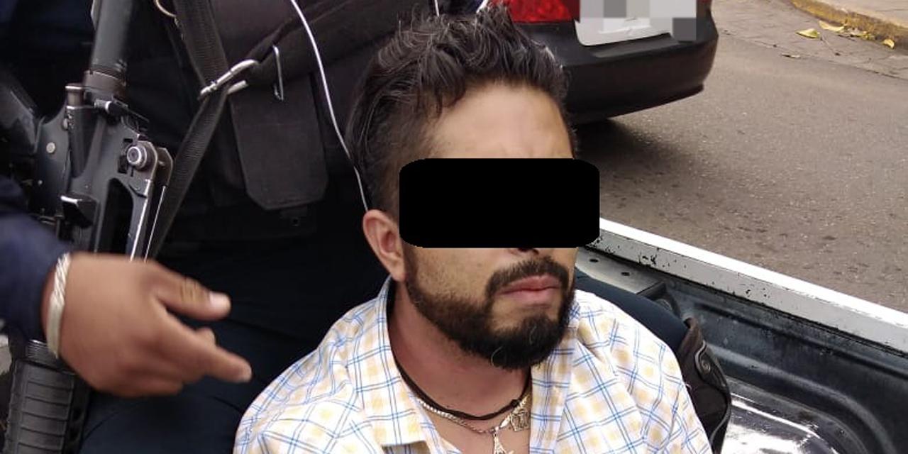 Detienen a sujeto armado en Cinco Señores | El Imparcial de Oaxaca