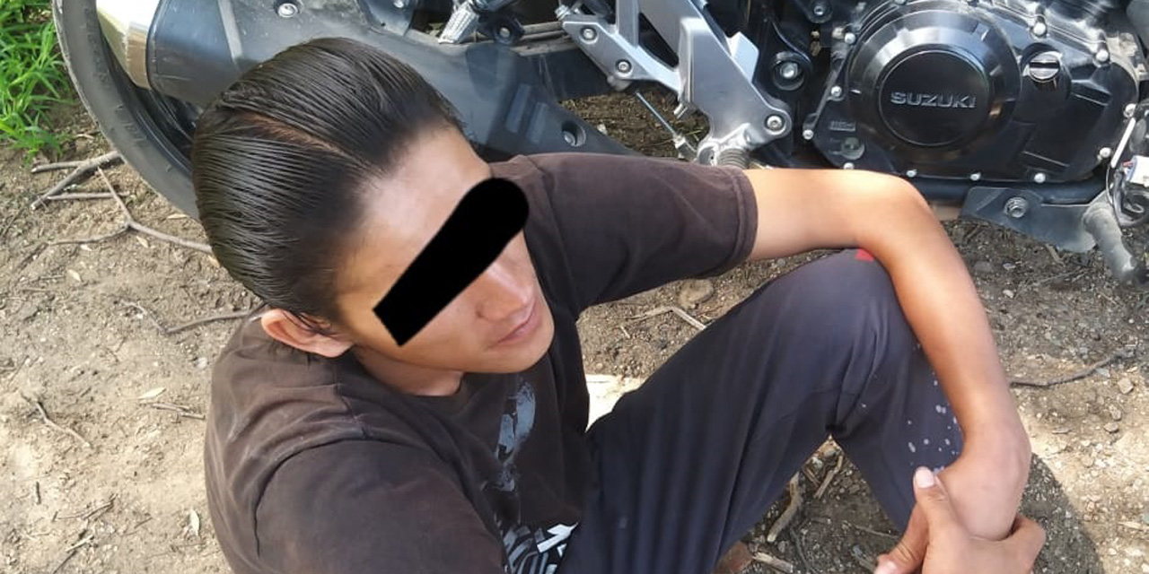 Detienen a presunto ladrón de motocicletas del centro de Oaxaca   El Imparcial de Oaxaca
