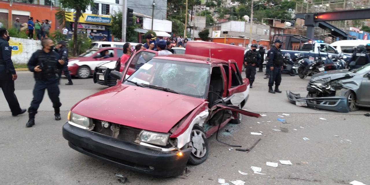 Continúan investigaciones de accidente y enfrentamiento en Monumento a la Madre | El Imparcial de Oaxaca
