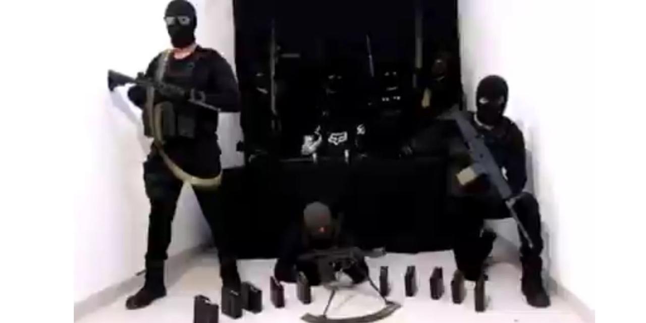 VIDEO: Hombres armados amenazan directamente a García Harfuch | El Imparcial de Oaxaca