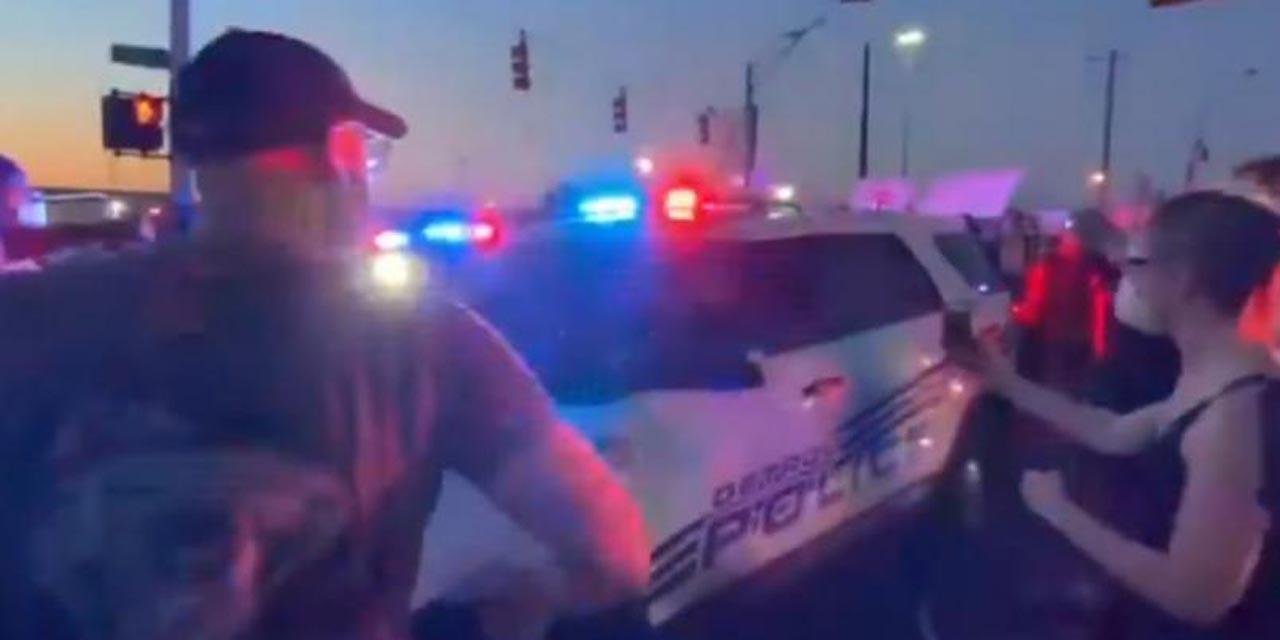 Video: Patrulla arrolla a manifestantes y deja varios heridos en Detroit | El Imparcial de Oaxaca