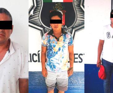 Caen narcomenudistas en la ciudad de Matías Romero