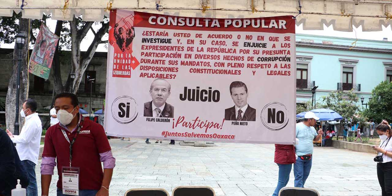 Instalan mesa de consulta para enjuiciar a expresidentes | El Imparcial de Oaxaca