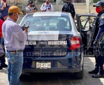 Operativo por patrulla municipal, se investiga su legalidad