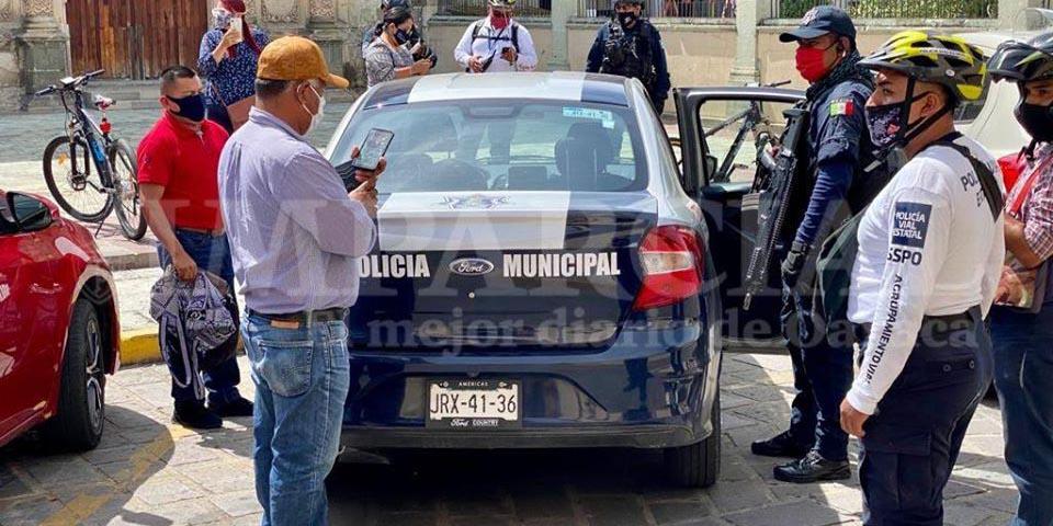 Operativo por patrulla municipal, se investiga su legalidad | El Imparcial de Oaxaca