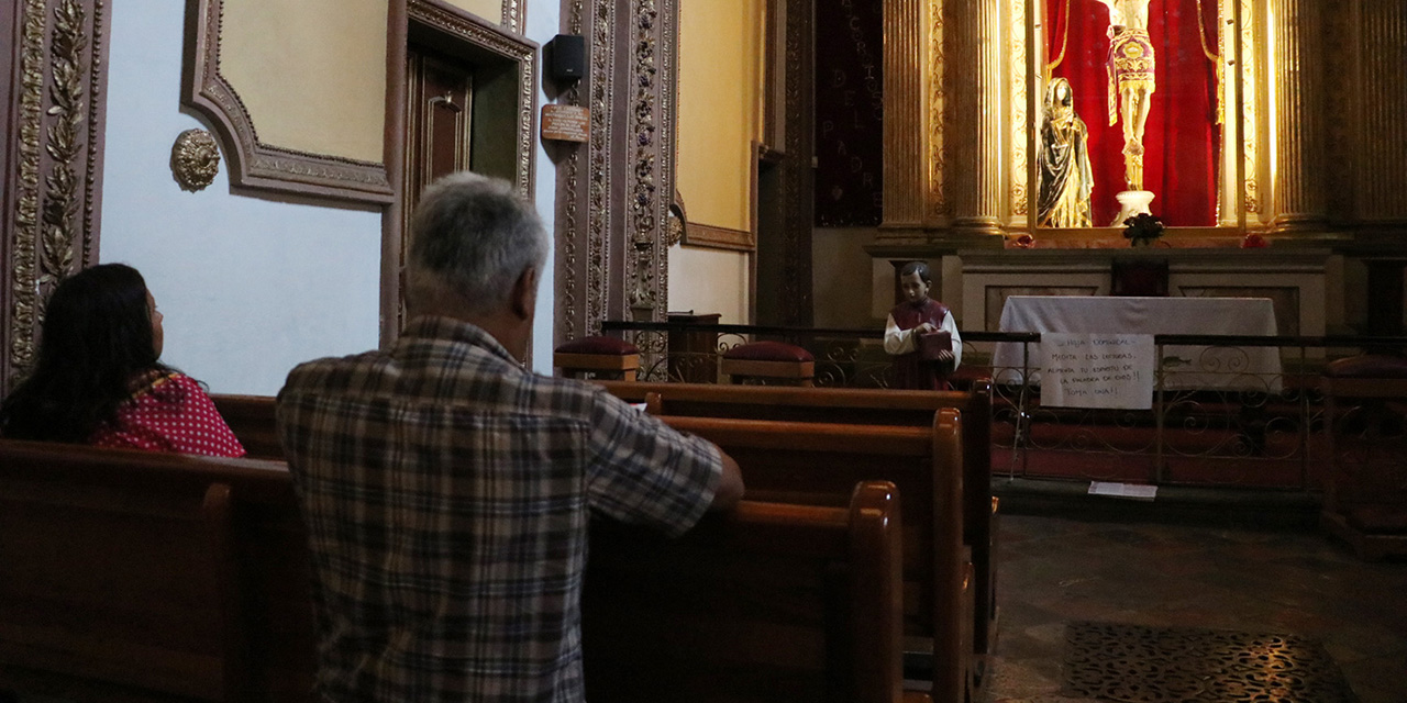 Iglesias de Oaxaca abrirán al 20% de capacidad: Arzobispo | El Imparcial de Oaxaca