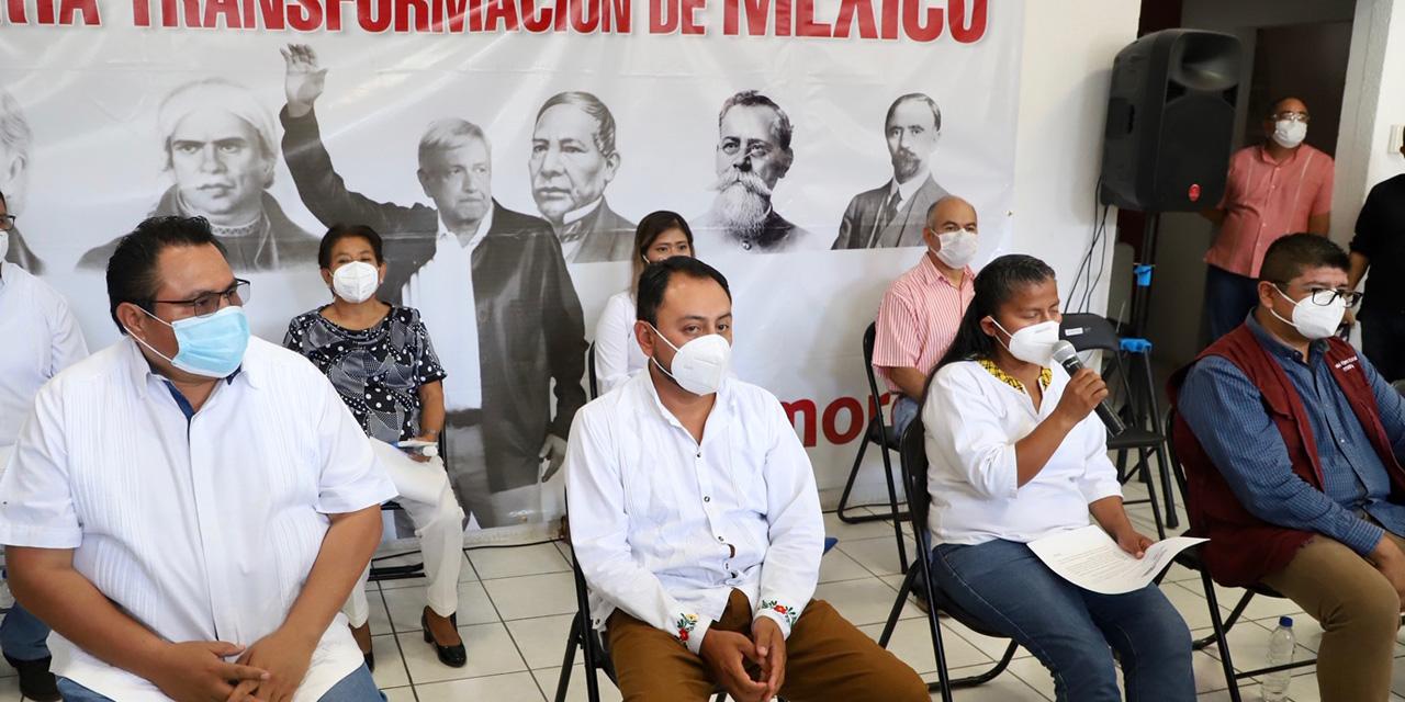 No hay condiciones para renovar la dirigencia de Morena en Oaxaca | El Imparcial de Oaxaca
