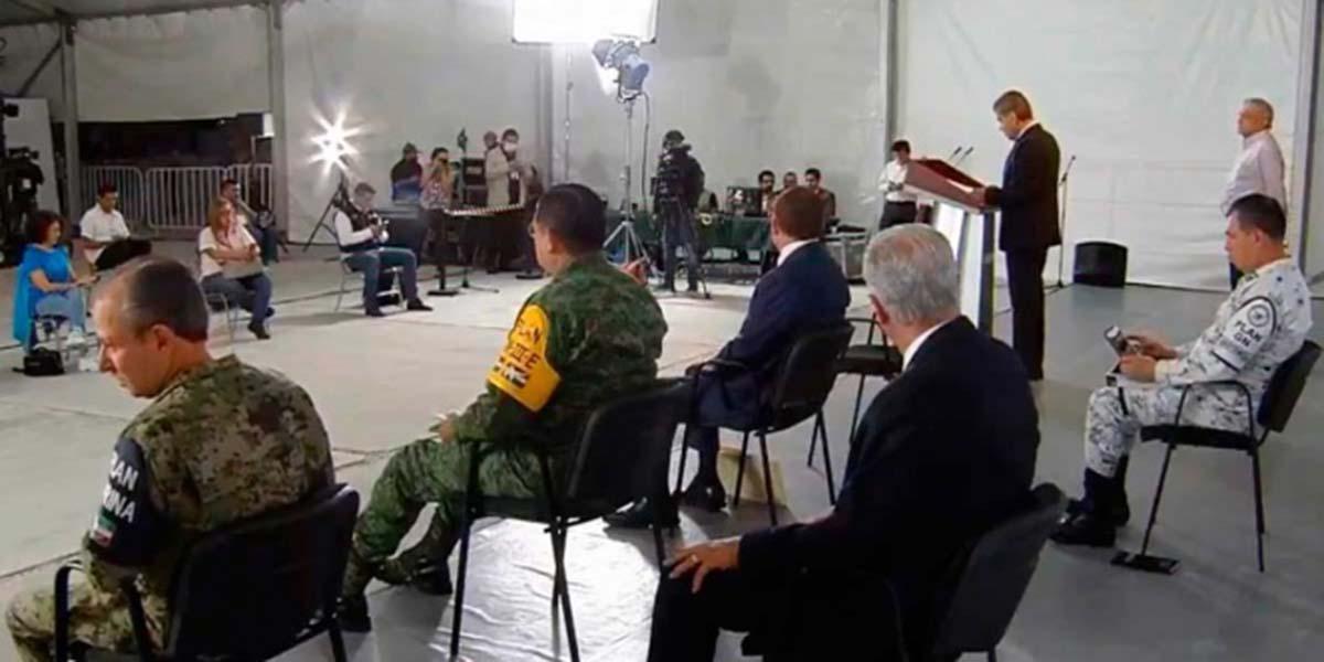 Respaldan Riquelme y Aispuro a 4T contra inseguridad y Covid | El Imparcial de Oaxaca