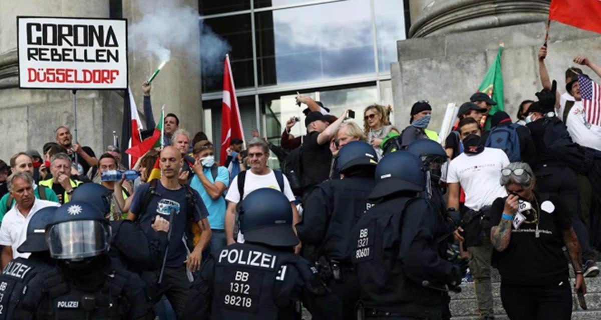 Crecen en Alemania los movimientos anticovid | El Imparcial de Oaxaca